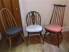 The Ercol Quaker,Windsor U0026 Goldsmith Dining Chairs Fitted With The U0027Stage  One U0027 Pallet Seat Cushions U2026